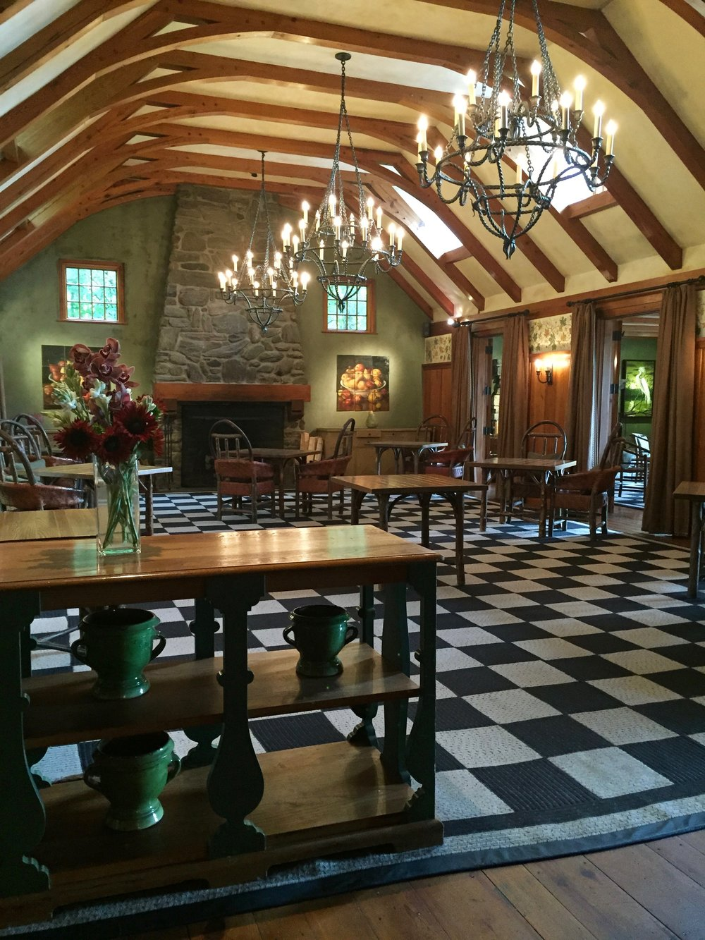 Twin Farms Dining Room - Photo Linda Davis