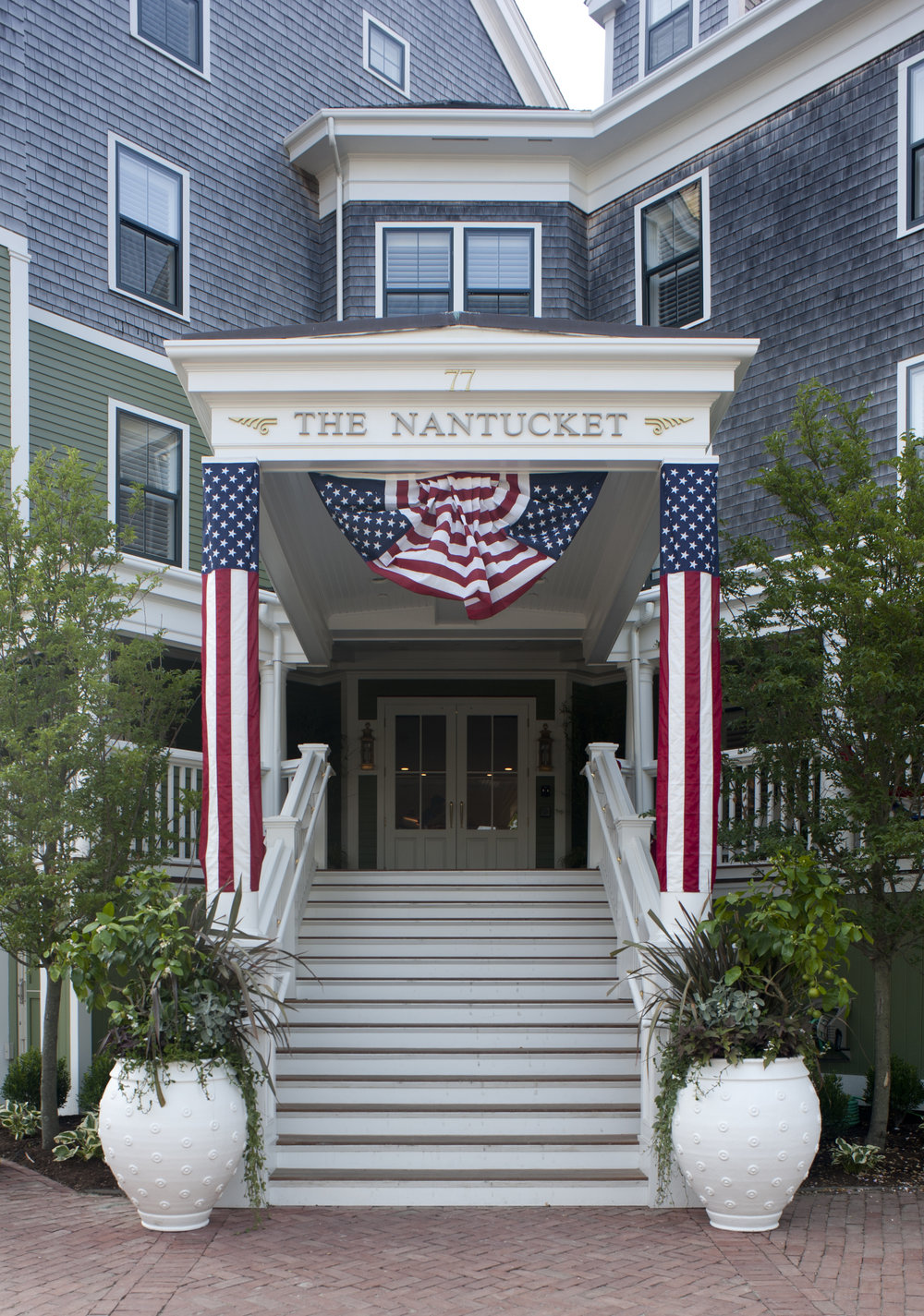 Entrance to the Nantucket Resort on the island of Nantucket, MA - Photo Via Nantucket Resort