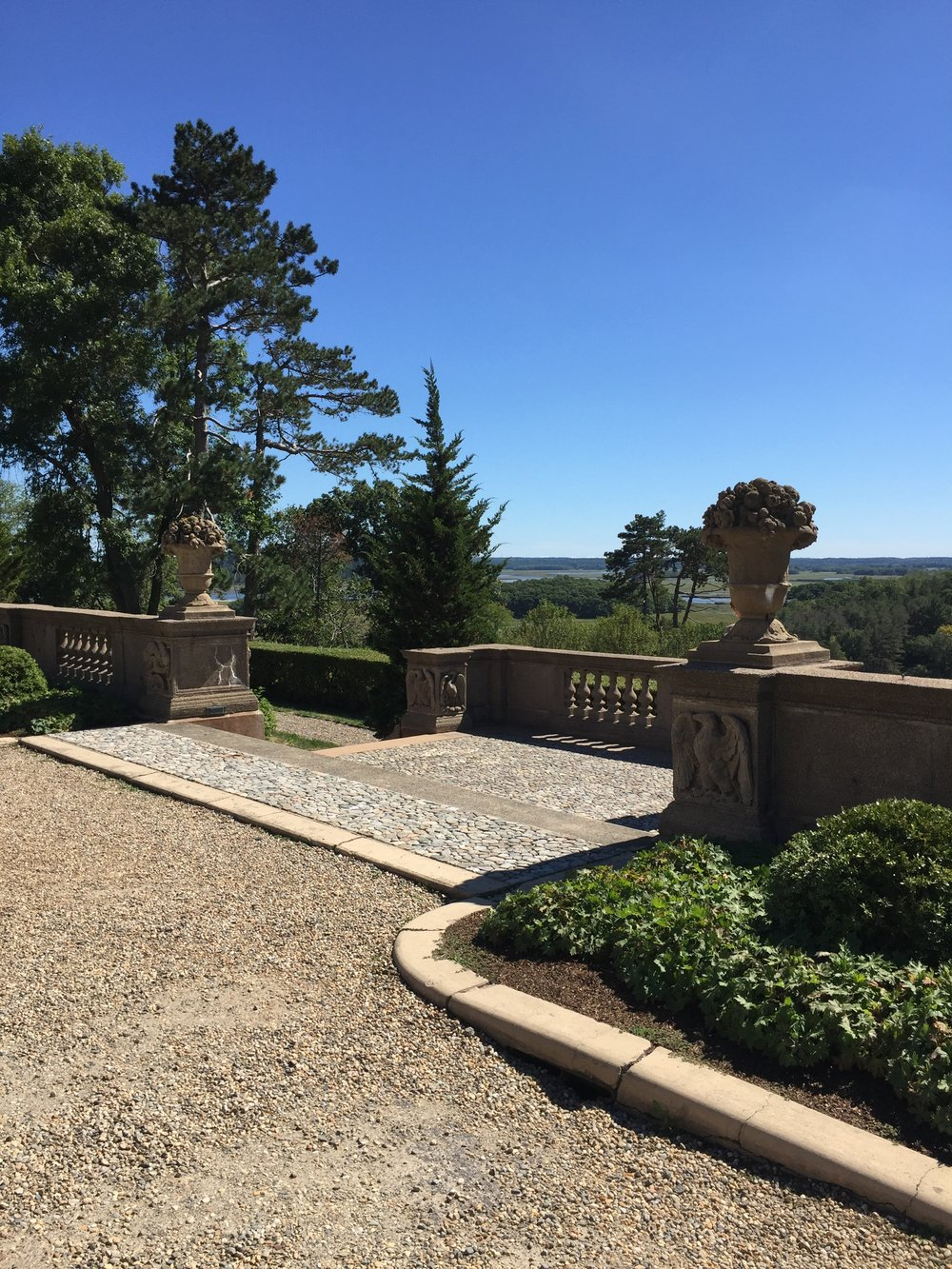 A view from the Crane Estate as if looking out their front door. Photo - Linda Davis