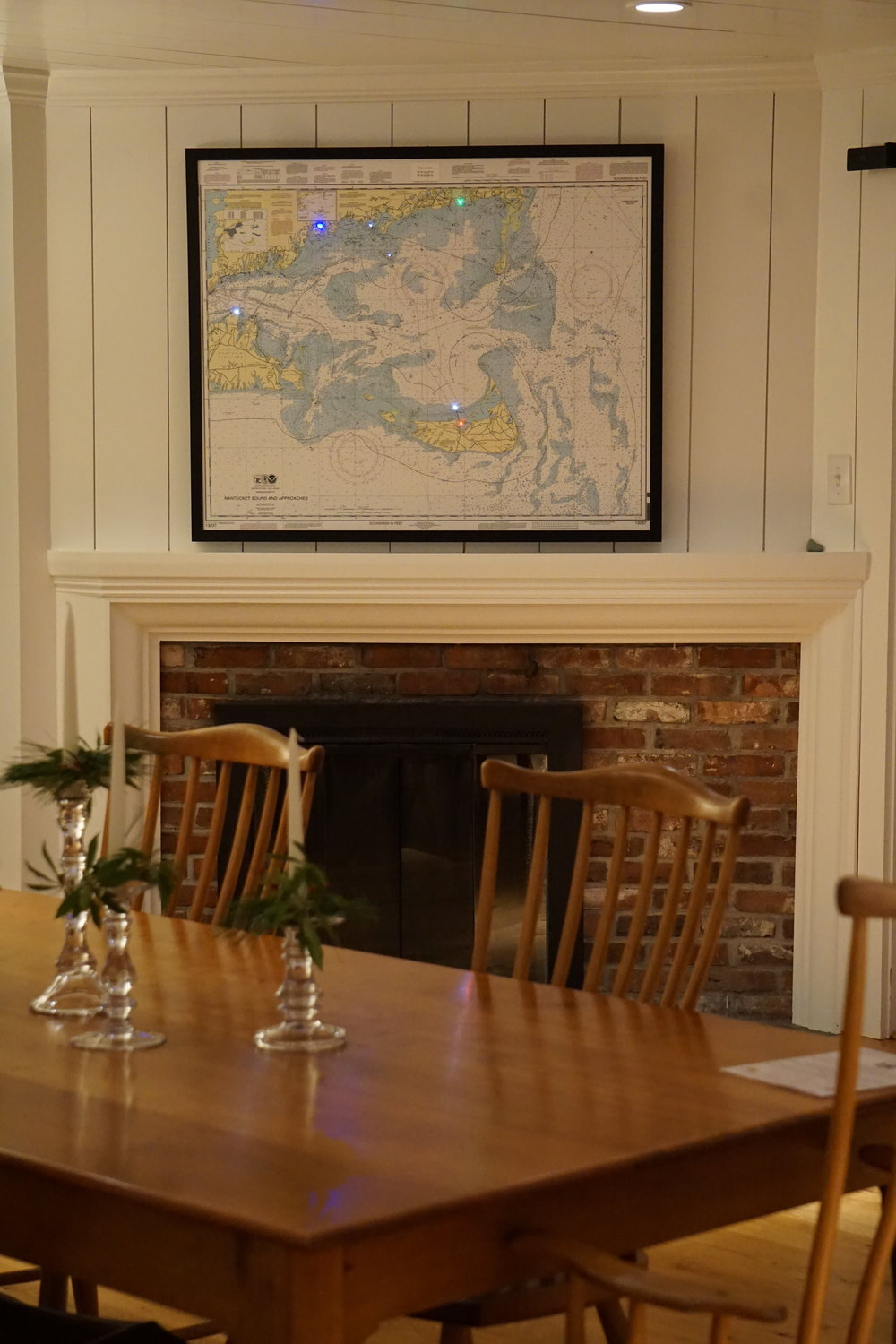 lit Nautical map cape cod