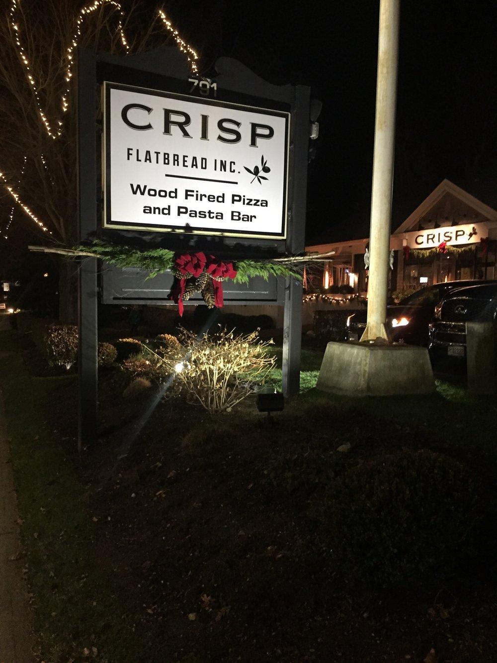 Crisp Pizza Osterville Cape Cod
