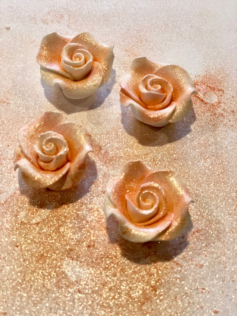 wilton rose gold dust on icing flowers.jpg