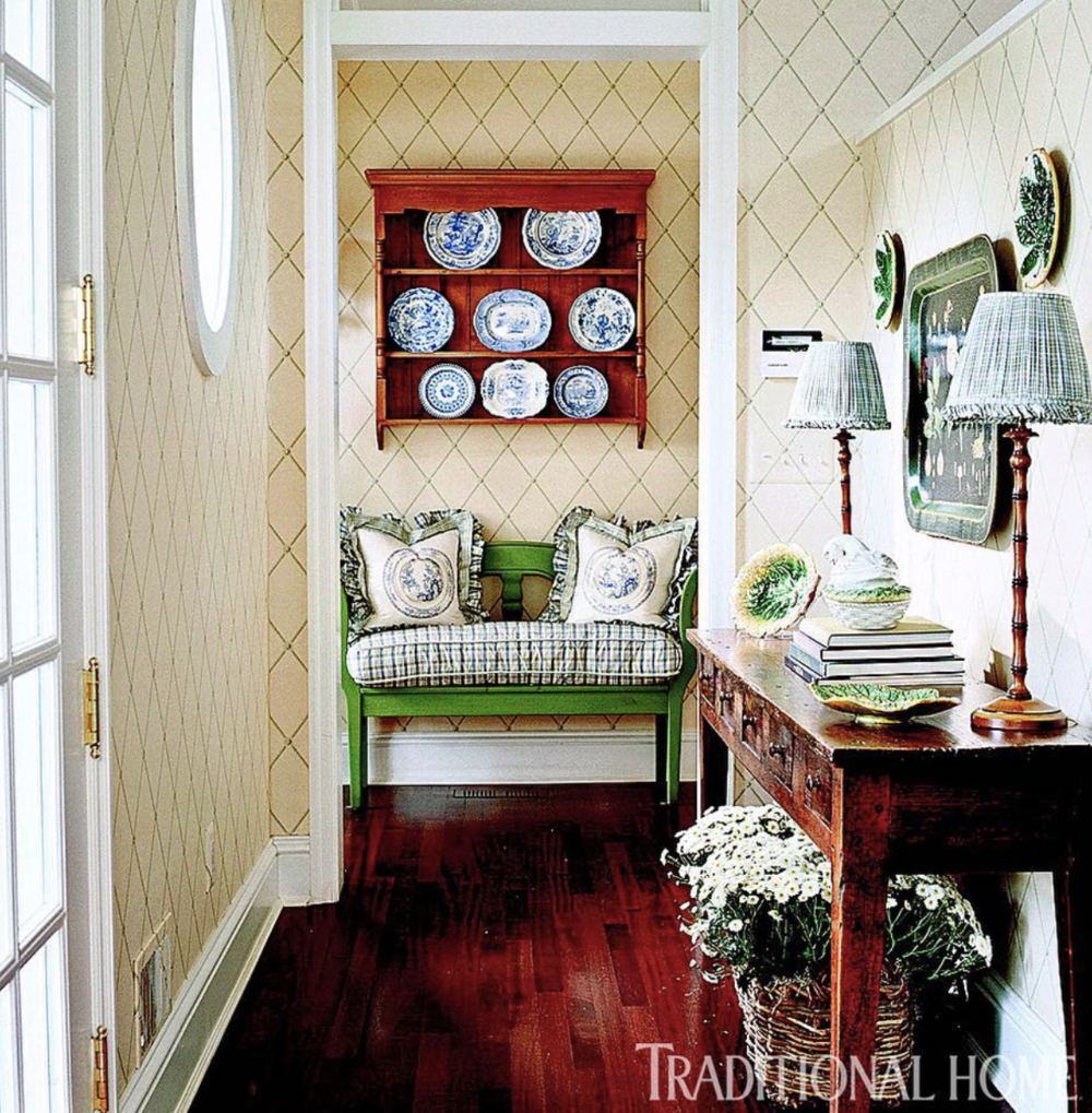 Design by Ann Heath  Duncan-Fuller Interiors  photo by Gordon Beall as seen in  Traditional Home Magazine