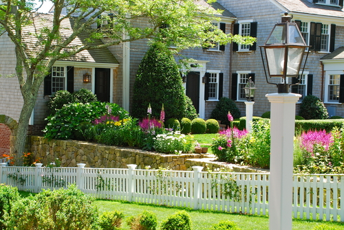 Photo of the John Coffin House, on Martha's Vineyard, as seen in New England Fine Living's media kit.