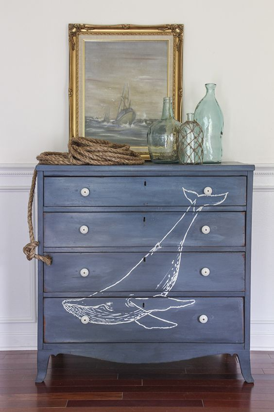 blue chest of drawers with whale painting.jpg