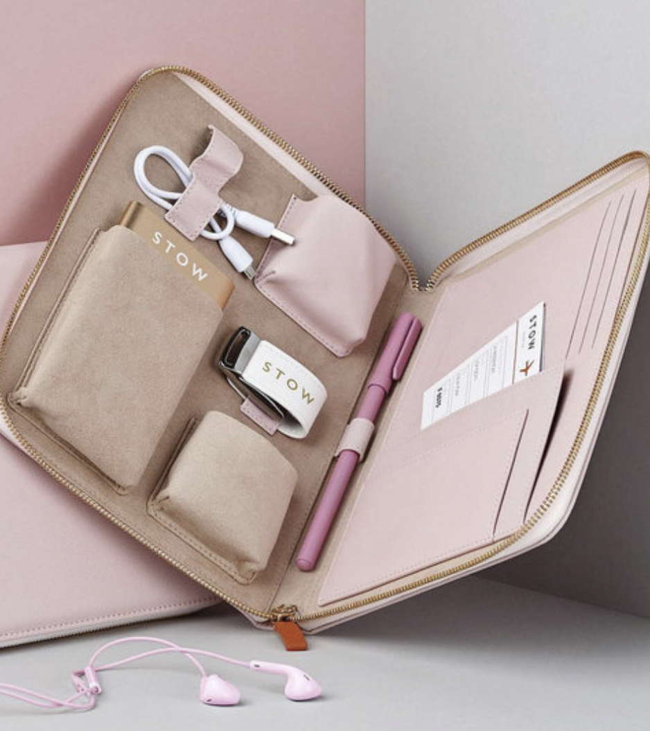 Stow London - Pink Tech Case - photo via ahalife