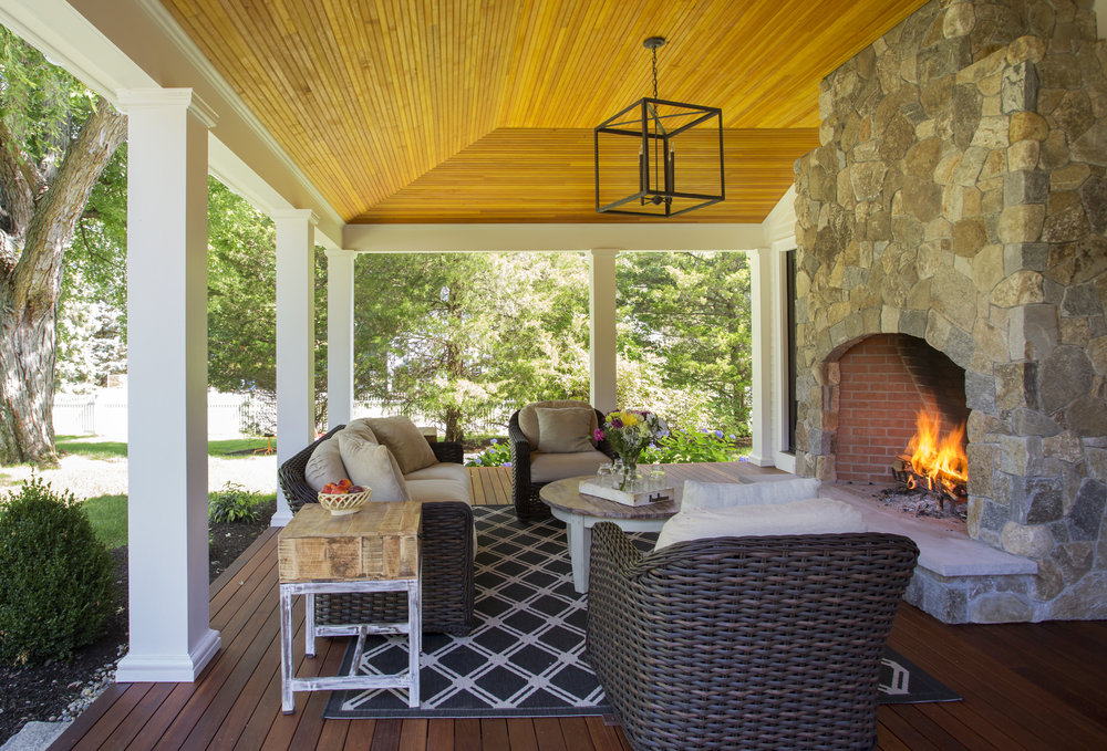Location - Lynnfield, MA  Architect - Mat Cummings  Photographer - Eric Roth