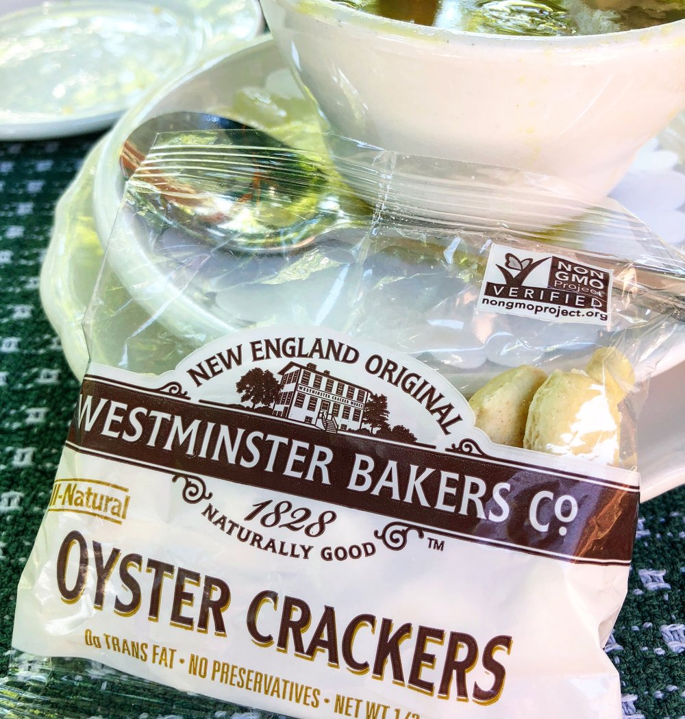 Oyster Crackers a New England Tradition