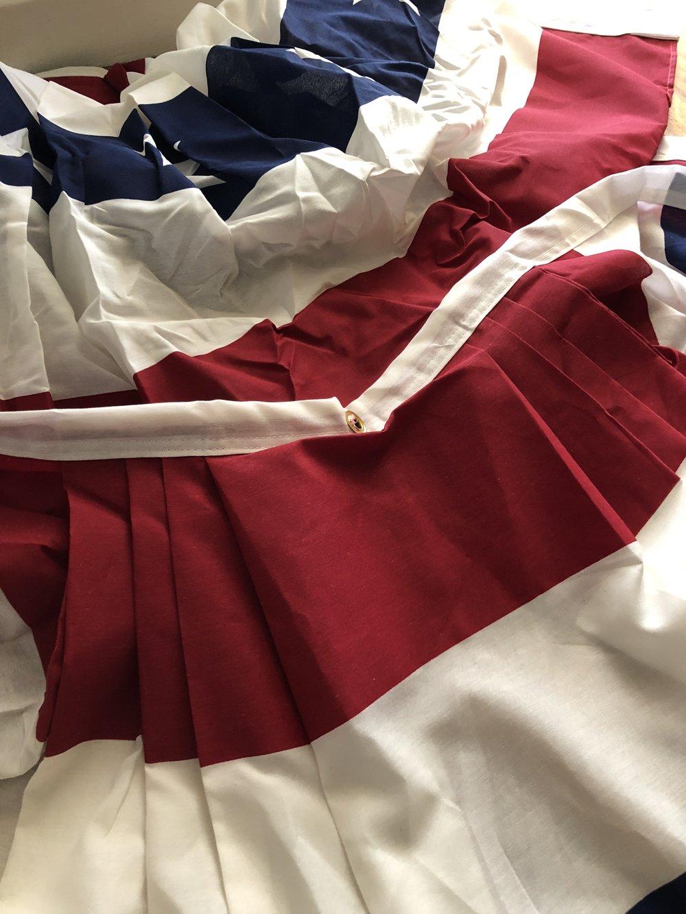 Ironing bunting