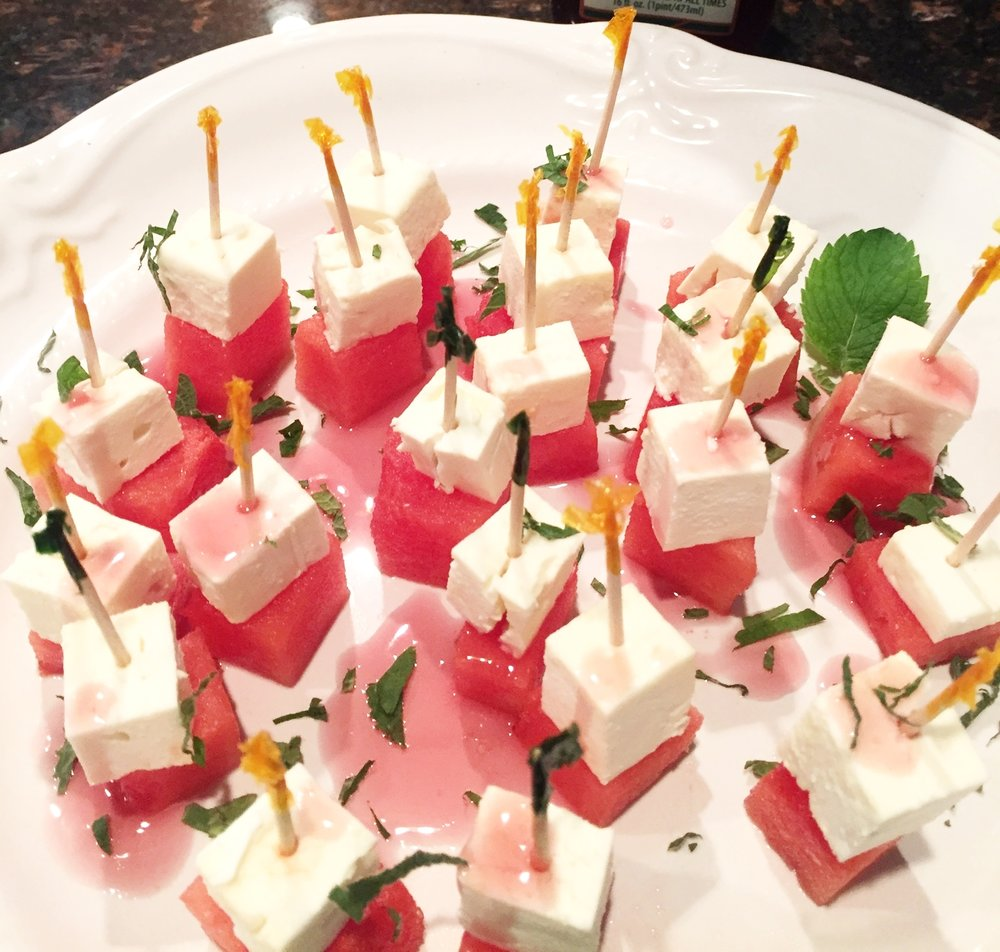 Watermelon Feta Mint appetizer.JPG