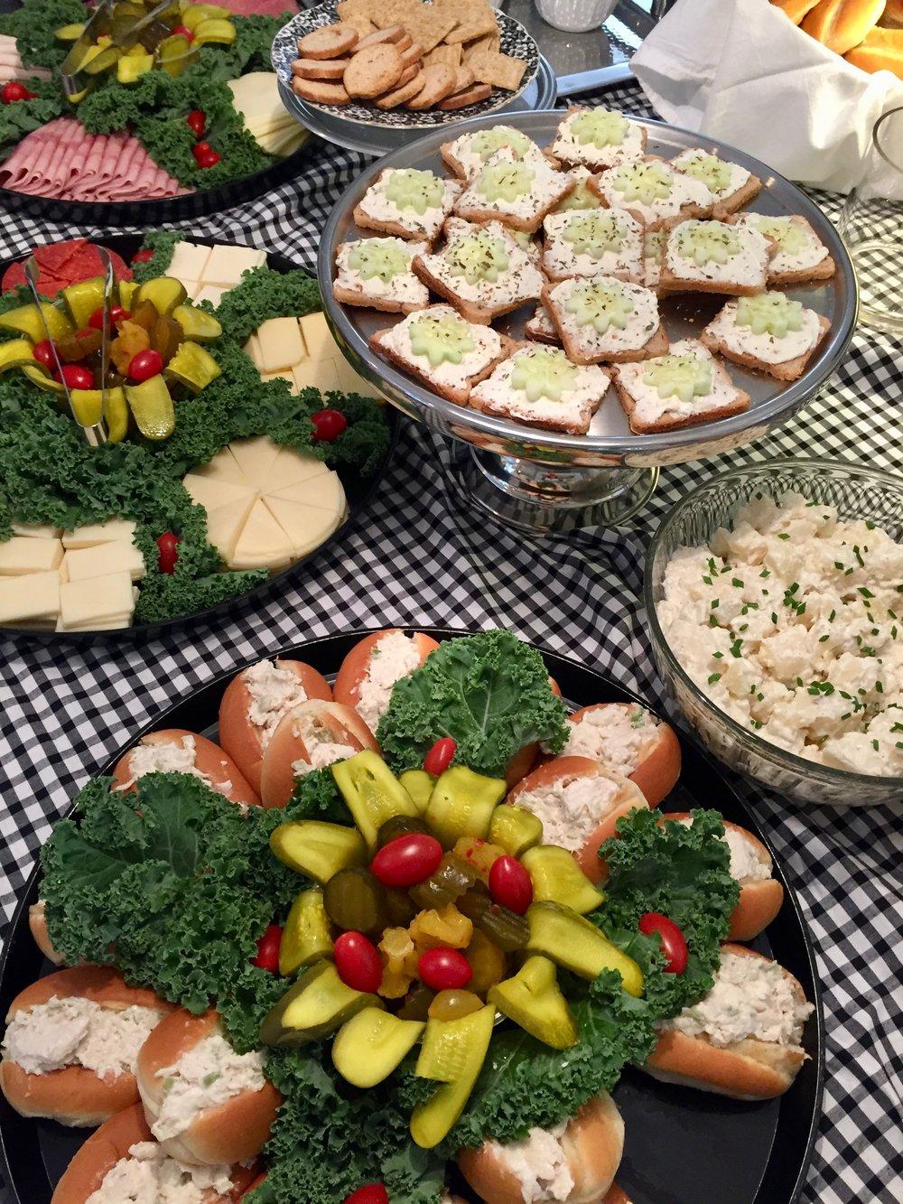 summer buffet for a party.jpg