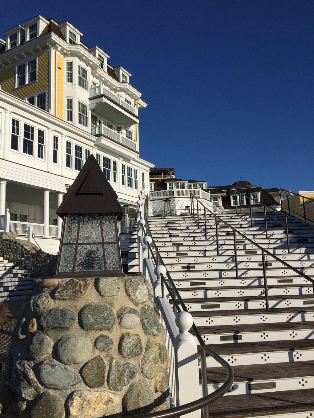 rear of ocean house hotel watch hill rhode island