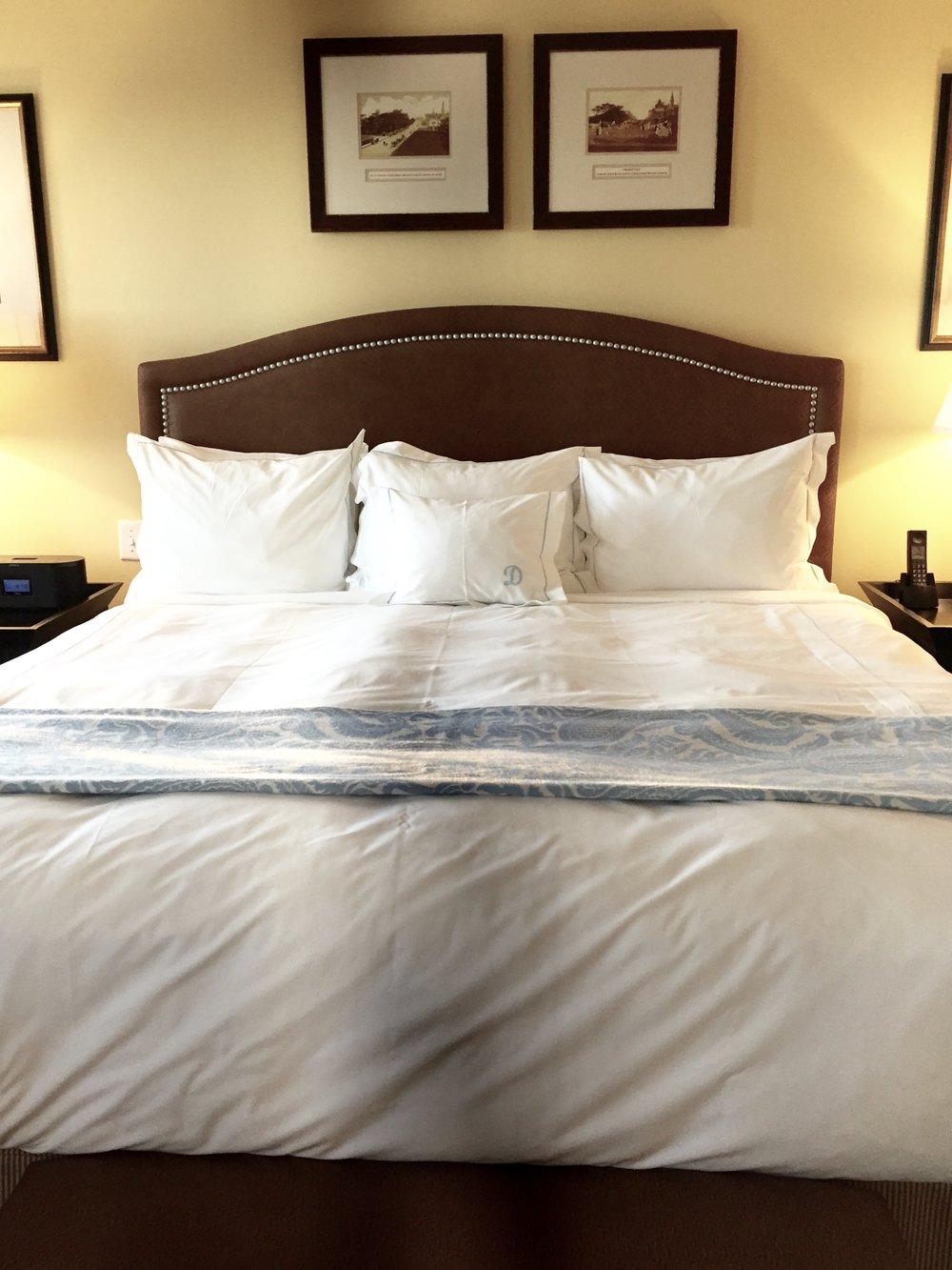 luxury bedding ocean house