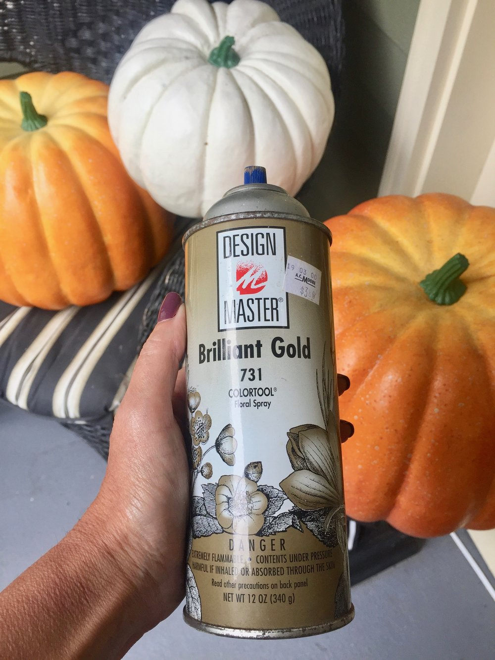 Design master paint for pumpkins