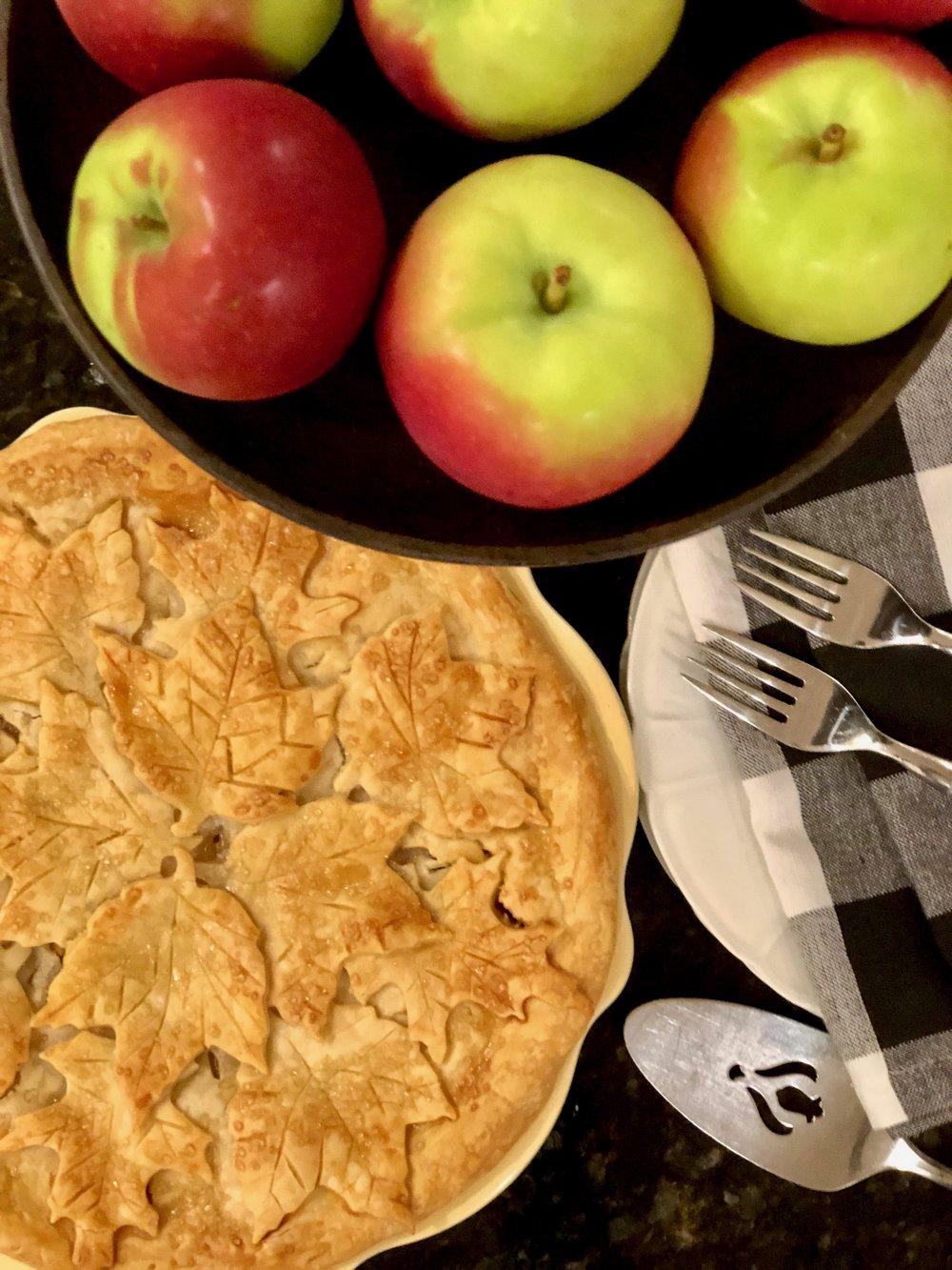 New England Fall Recipes Apple Pie