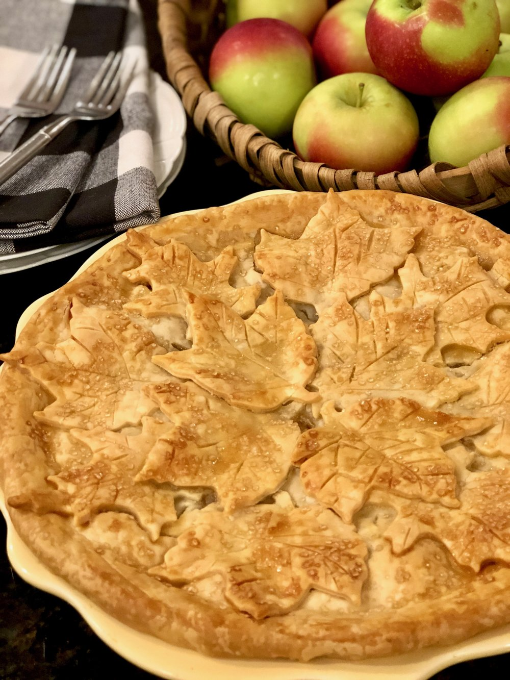 New England apple pie