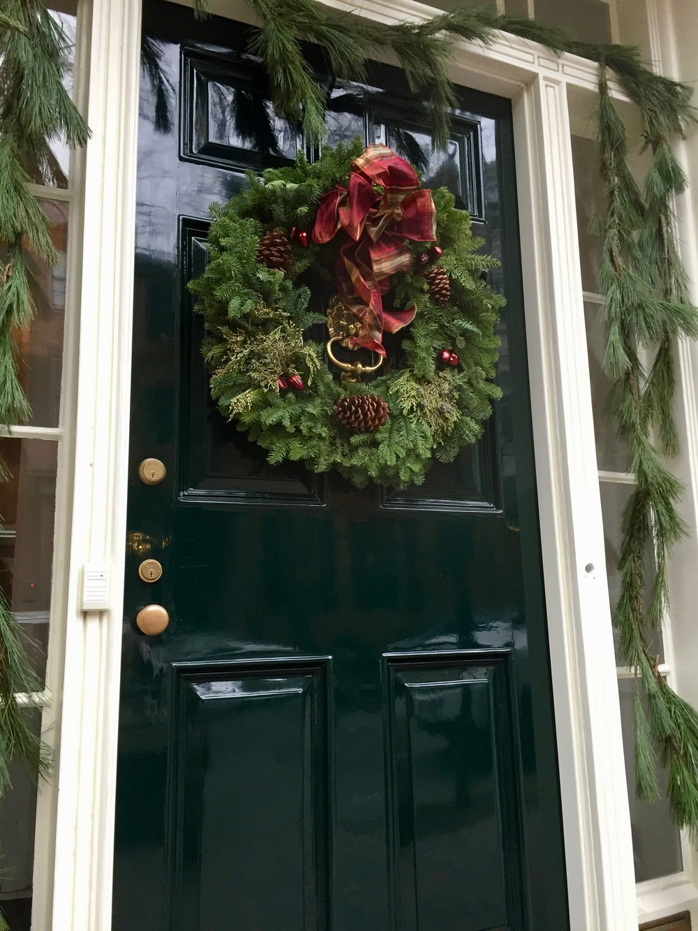 Christmas in New England Christmas Wreath Beacon Hill.jpg
