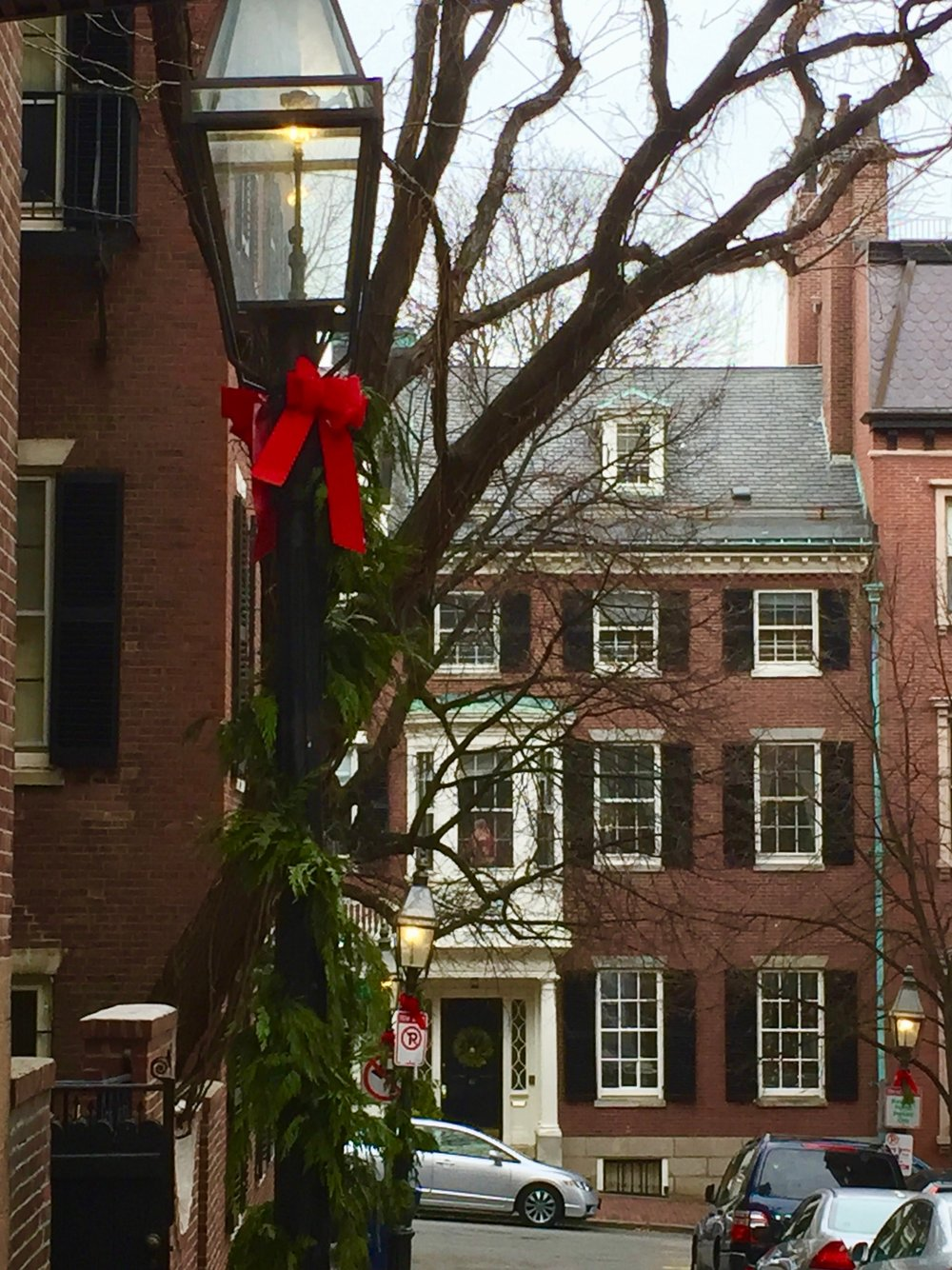 Beacon Hill at Christmastime