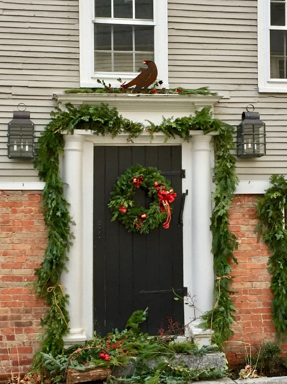 Christmas Wreath ideas from New England - portsmouth nh 13.jpg