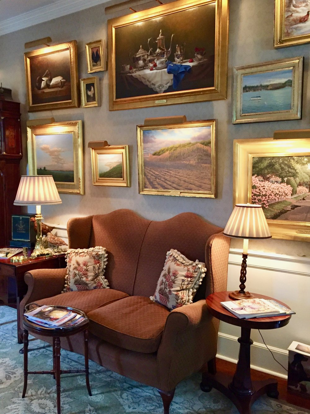 Charlotte Inn Gallery New England Fine Living