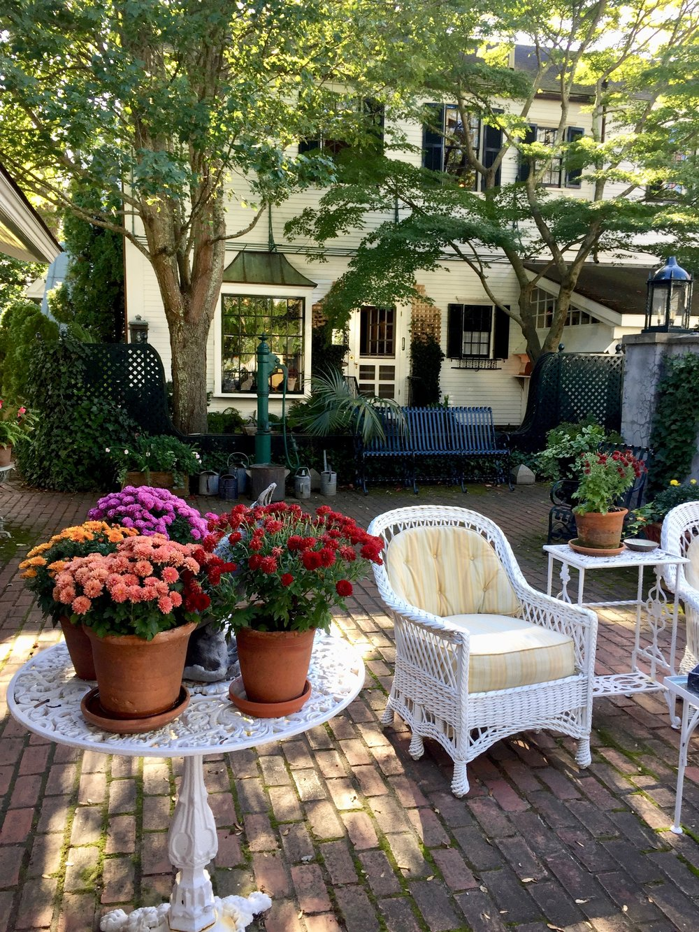 fall at The Charlotte Inn New England Fine Living