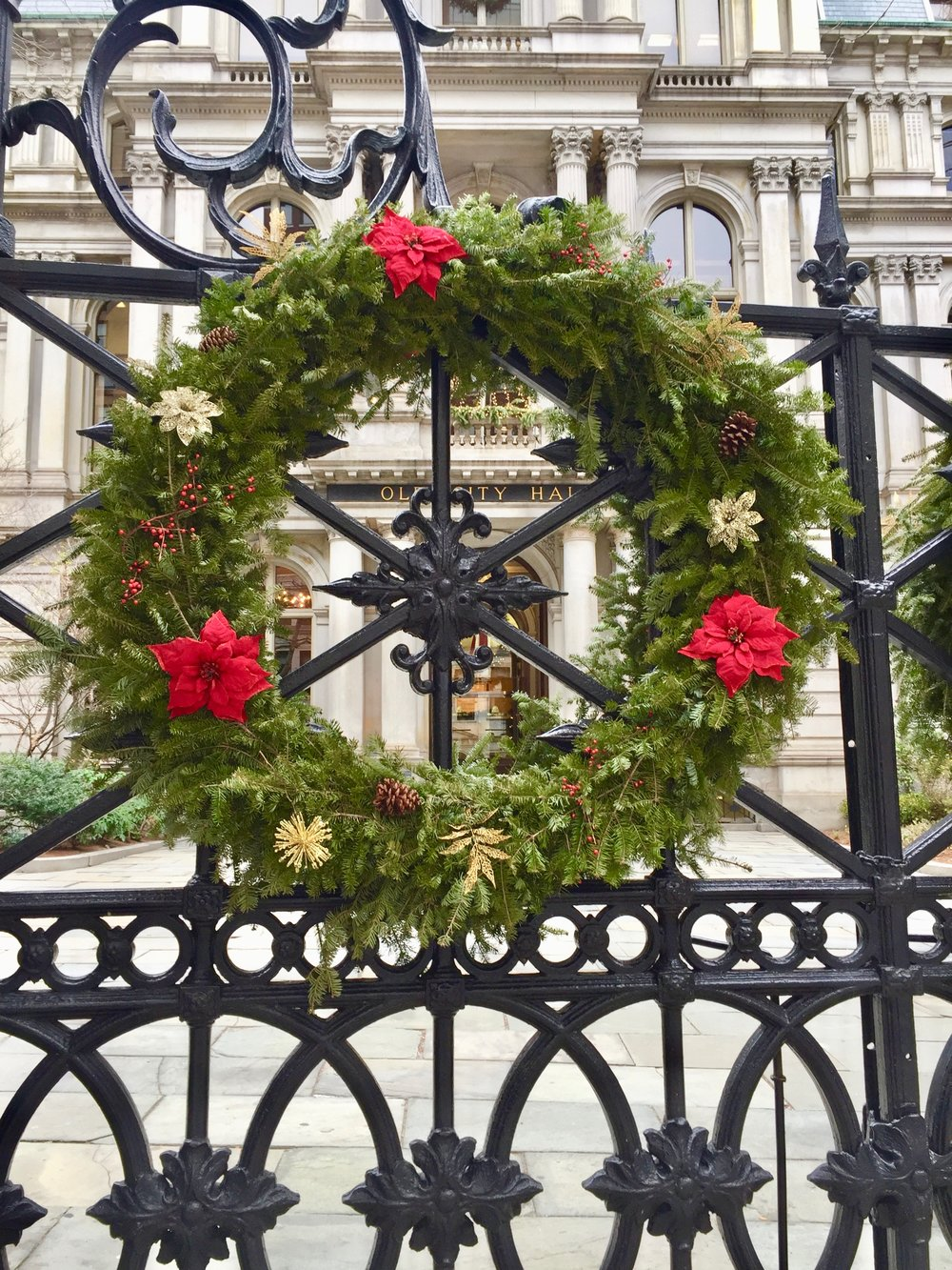Front-Iron-Gate-Old-City-Hall-Boston-New-England-Fine-Living