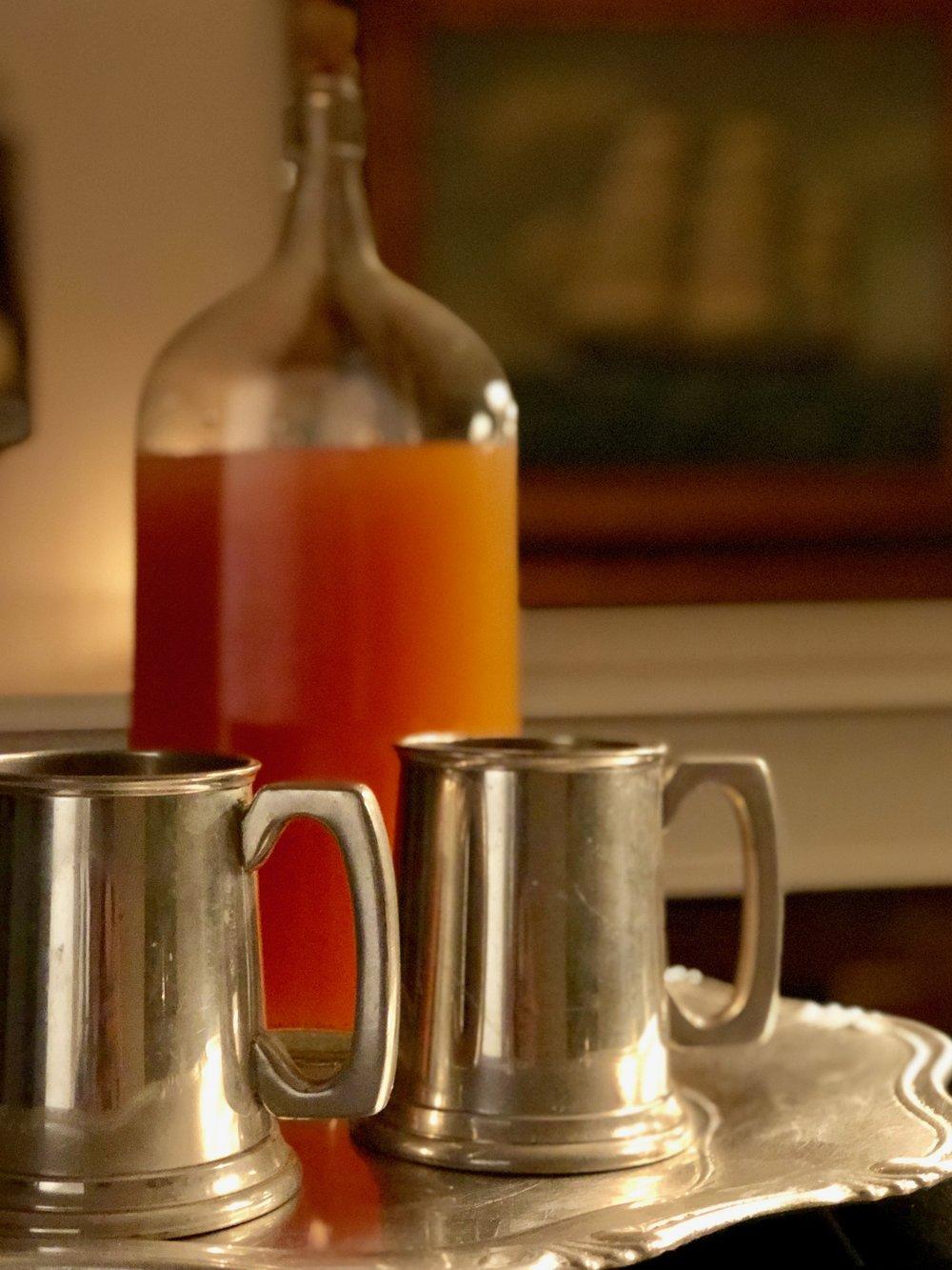 New England rum punch recipe
