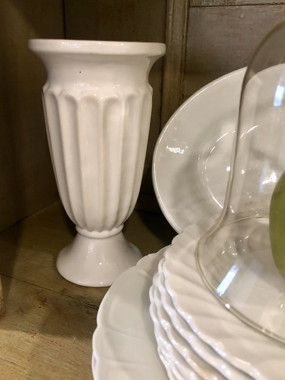 Vases from Martha Stewart's prop library