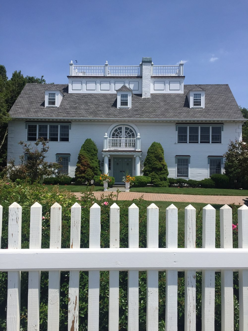 White house white trim Marblehead MA New England USA.jpg