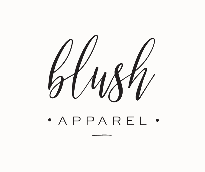 Blush Apparel branded by Miss Poppy Design