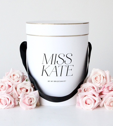 Personalised Gift Boxes - Available in a range of shapes and colours, each is personalised just for you.