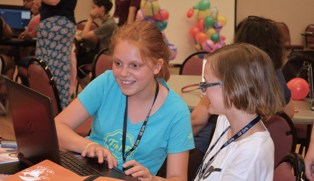 Thirty-six middle school girls from Milwaukee, Waukesha and Shorewood were selected to be part of GE Girls at MSOE, A program intended to inspire girls to consider careers in science, technology, engineering, or math (STEM).