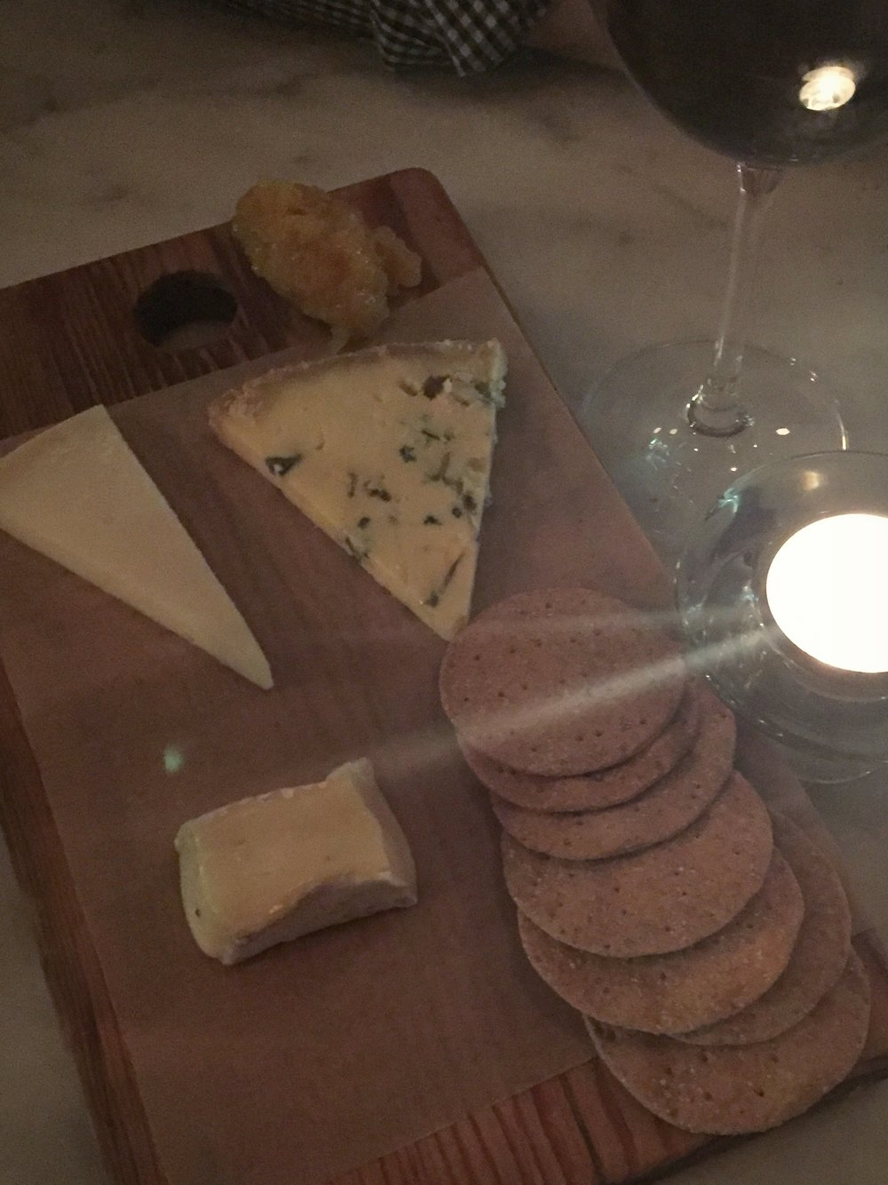 Cheese platter, the best course of a meal - said me, always.