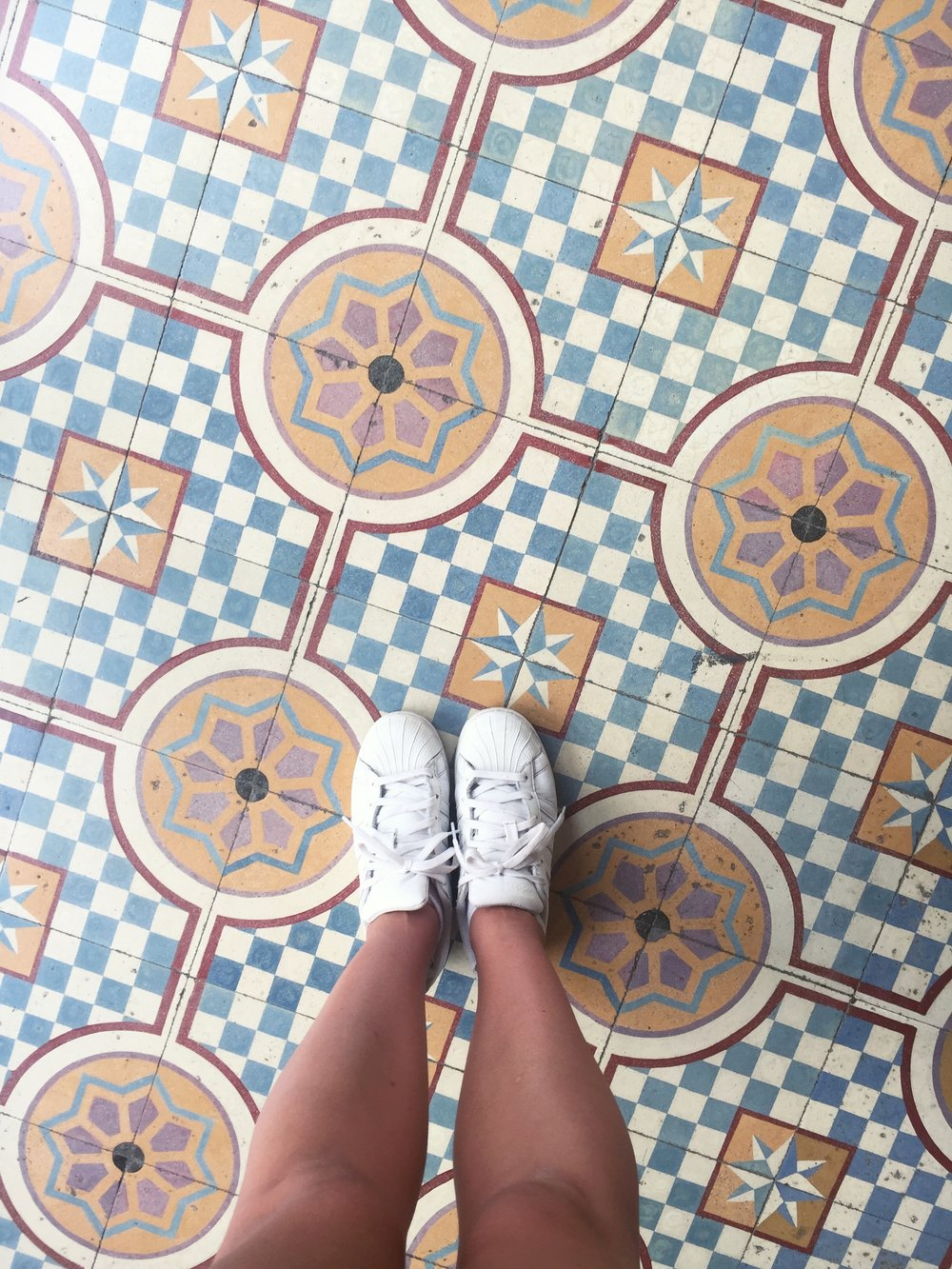 Valladolid has some pretty floor