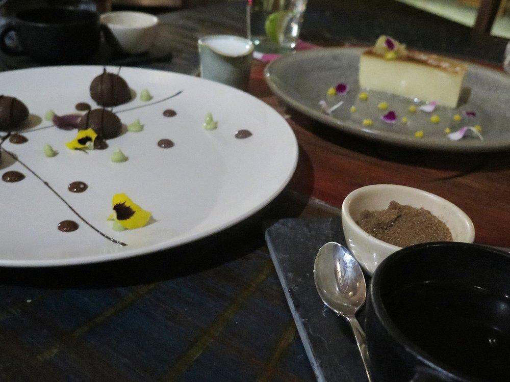 Delicious desserts @ La Zebra
