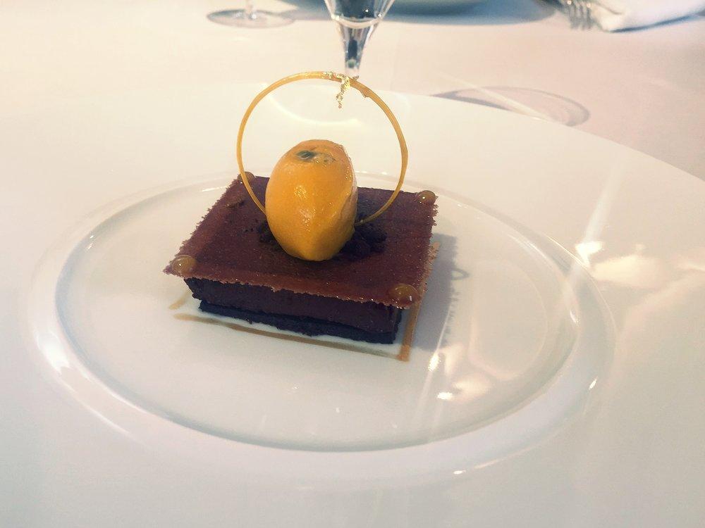 Patrick Guilbaud dessert