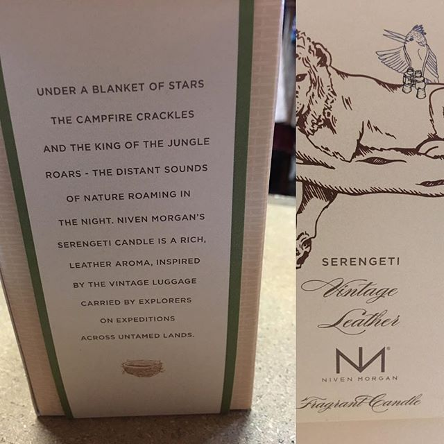 We are fully stocked with our Niven Morgan candles and men's skin care line. Serengeti is a new scent that we are caring. I love the description. #serengeti #nivenmorgancandles #shopsmall #shoplocal #downtown #snohomish #triedandtrueboutique