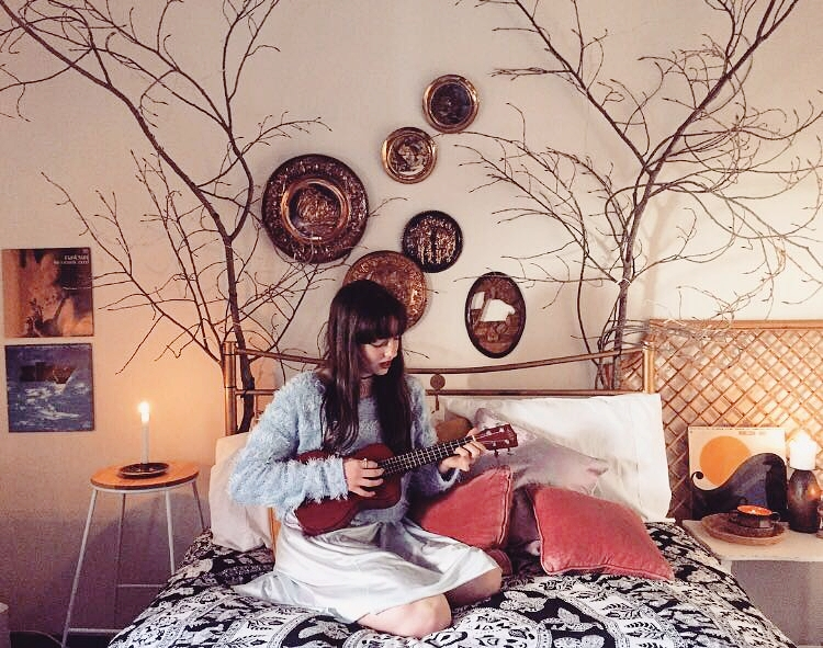 Bohemian Blooms Bedroom Styling 2