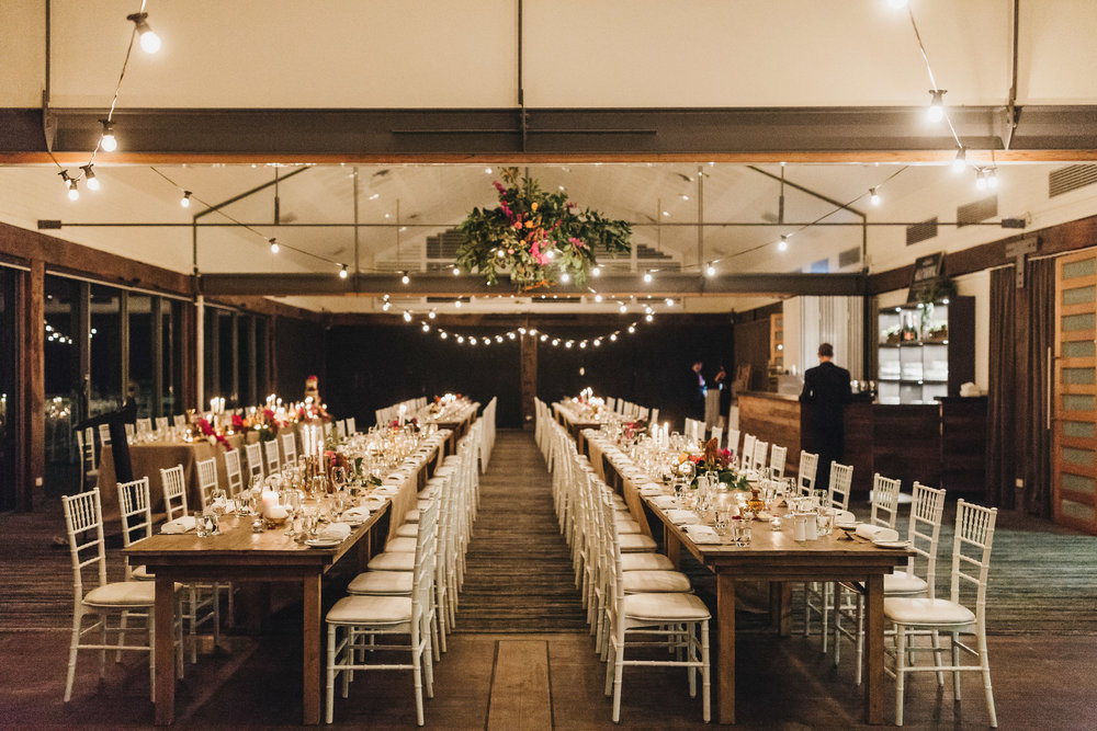 Bohemian Wedding Sydney reception