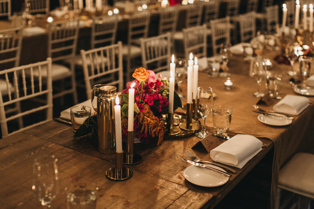 Bohemian wedding reception sydney table