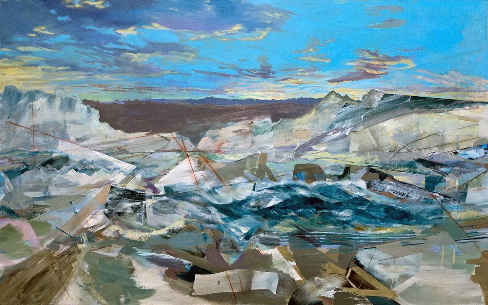 Sea of Angled Scraps