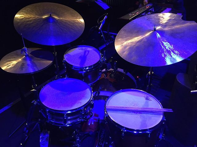Sharing drum set with Mark Guiliana today! Can't wait!