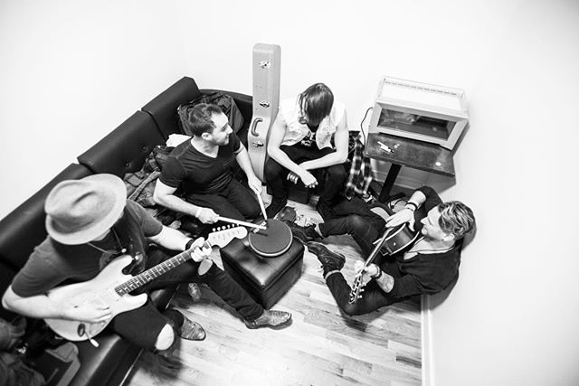 Warming up in the white abyss. Tickets on sale now for MoTHER with @rivalsons and @wellesmusic. May 13th, 2018 at @whiteeaglehalljc. Link in bio! 📷 @dan_williams_photography_pa . . . #rocknroll #rockyourmother #writing #warmup #backstage #greenroom #whiteroom #blackandwhite #fromabove #acoustic #groove #move #live #music #local #national #jerseycity #candid