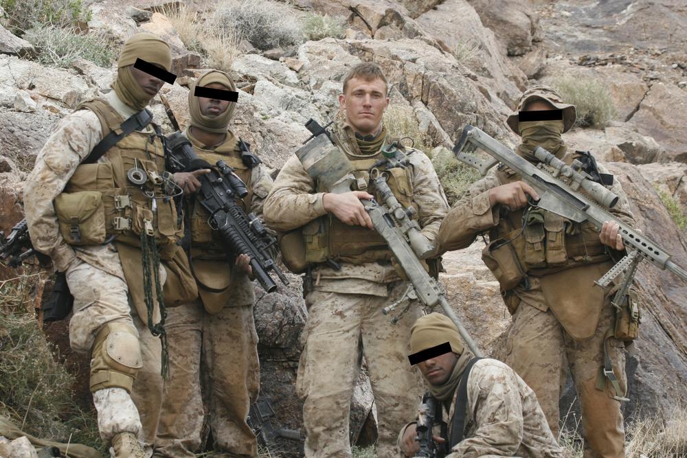 Dakota Meyer with Local Military