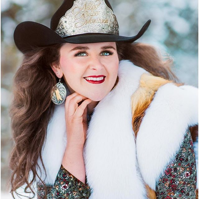 Miss Rodeo Montana, Kaitlin Kolka  Photo credit:  Maria Hallen Studios