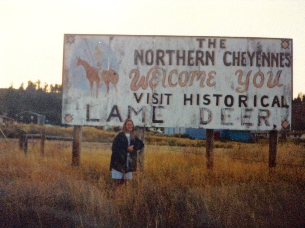 "Just arriving in Lame Deer soon after graduating from college.  My VISTA project was called the ""Mickey Leland Hunger Fellows"" and was run by the Congressional Hunger Center in Washington, D. C.  We helped the community start a Food Bank."