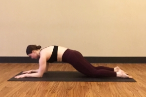 Sphinx Roll-Ups: Probably the most effective way to work your abdominal core in a yoga class.