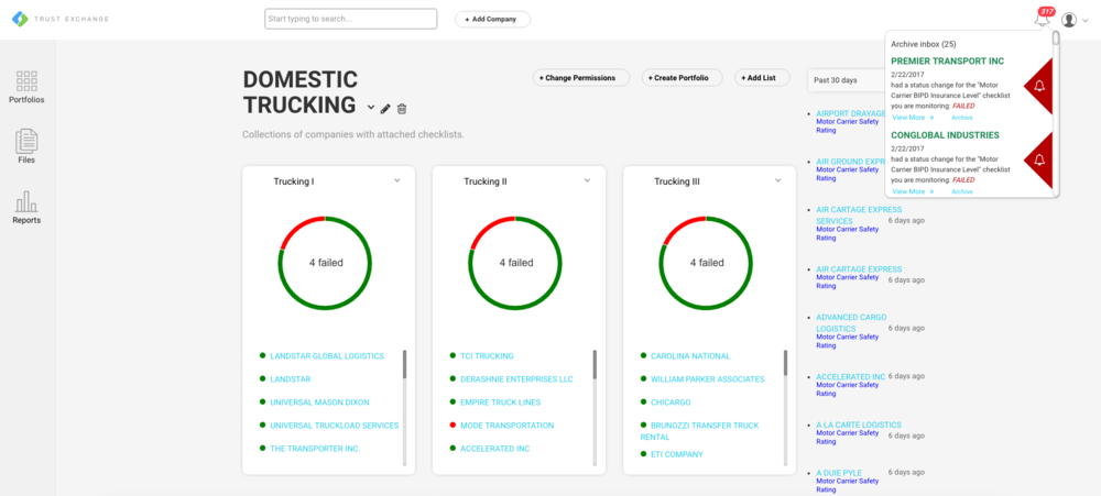 Vendor Monitoring Dashboard