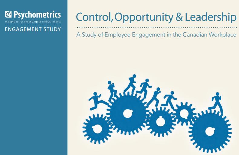 Employee Engagement study 2015