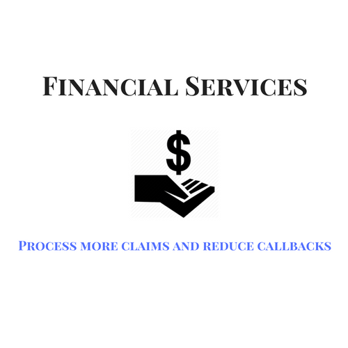 Contact center solutions for financial services